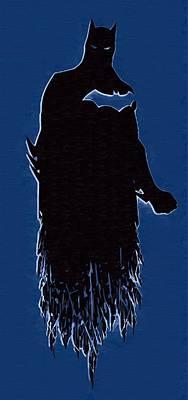 Batman Digital Art - Batman Public Enemies Print by Egor Vysockiy