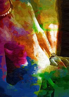 Gay Art Print Art Print by Michael Vicin