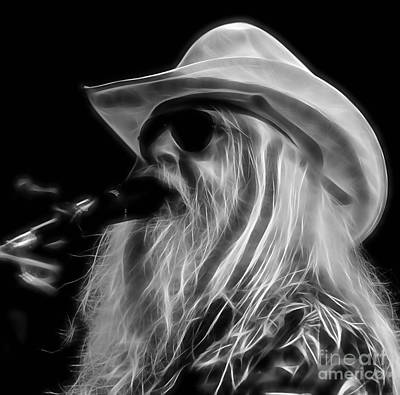 Hip Mixed Media - Leon Russell Collection by Marvin Blaine