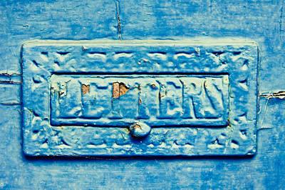 Letterbox Print by Tom Gowanlock