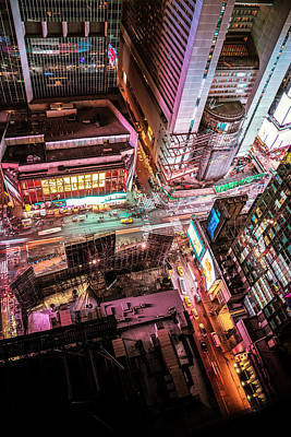 Times Square Photograph - New York City by Vivienne Gucwa