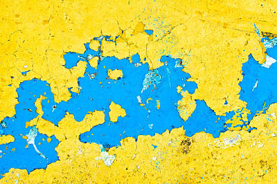 Peeling Paint Print by Tom Gowanlock