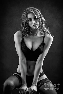 Arouse Photograph - Sensual Woman by Aleksey Tugolukov