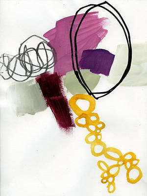 Collage Painting - 81/100 by Jane Davies