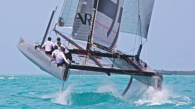 Squall Photograph - Key West Race Week by Steven Lapkin