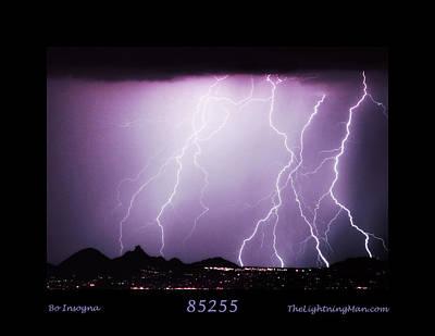 85255 Fine Art Arizona Lightning Photo Poster Print by James BO  Insogna