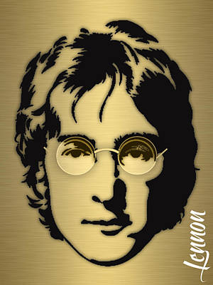 Poster Mixed Media - John Lennon Collection by Marvin Blaine