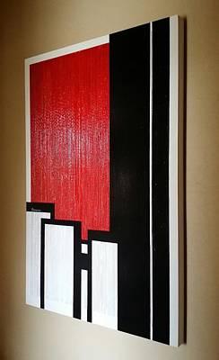 2001. World Trade Center Painting - 9/11 by Arthur Benjamins