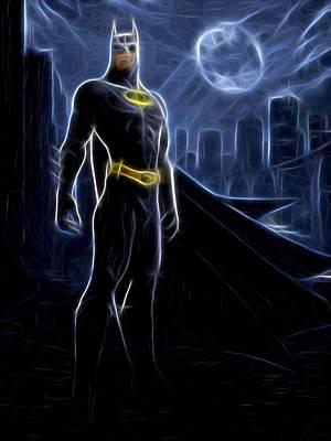Batman Digital Art - Batman The Joker Print by Egor Vysockiy