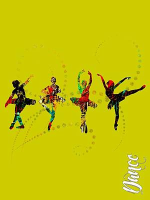 Beauty Mixed Media - Dance Collection by Marvin Blaine