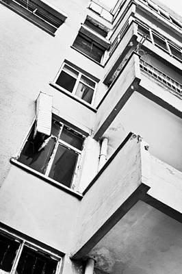 Ghetto Photograph - Derelict Building by Tom Gowanlock