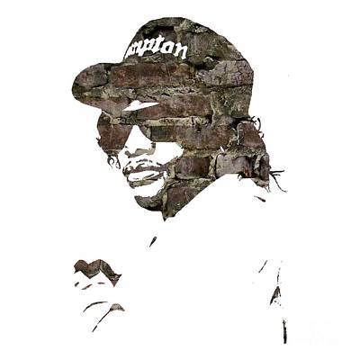Eazy E Straight Outta Compton Print by Marvin Blaine