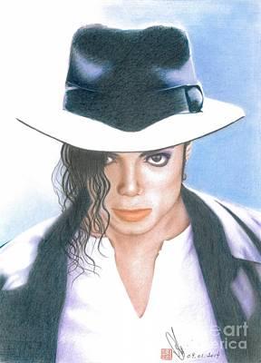 Michael Jackson #three Print by Eliza Lo