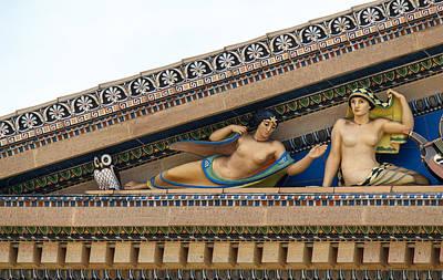 Philadelphia Museum Of Art Print by Kenneth Grant