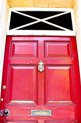 Red Door Print by Tom Gowanlock