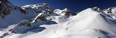 Serre Chevalier In The French Alps Print by Pierre Leclerc Photography