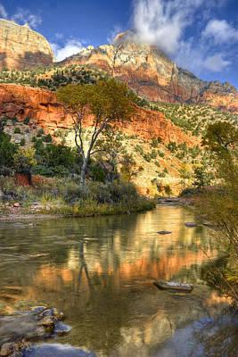 Slickrock Photograph - Zion National Park Utah by Utah Images