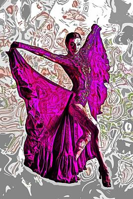 Dance Digital Art - Dance by Elena Kosvincheva