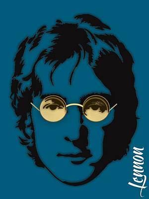 John Mixed Media - John Lennon Collection by Marvin Blaine