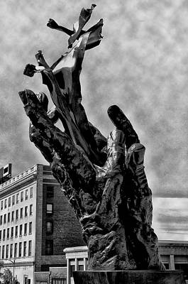 11th Digital Art - 911 Memorial - Norristown by Bill Cannon
