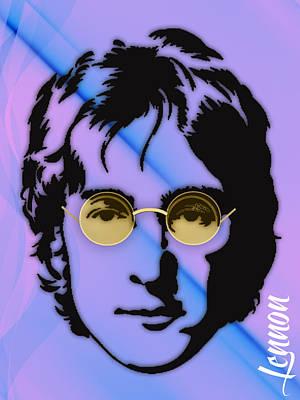 John Lennon Mixed Media - John Lennon Collection by Marvin Blaine