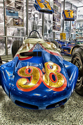 Indy Car Photograph - 98 by Lauri Novak