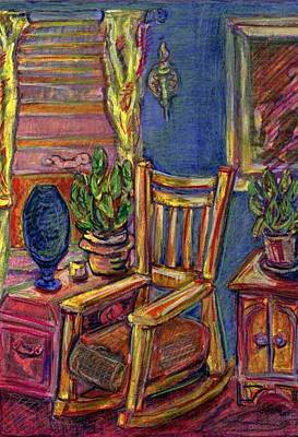 Painting - Thelma's Chair by Don Thibodeaux