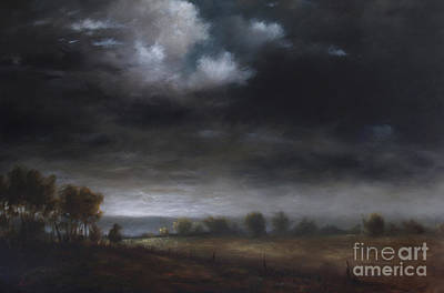 Berkshires Painting - A Berkshire View by Larry Preston