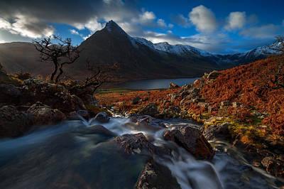 Autumn Photograph - A Bit Of Winter by Tomasz Janicki