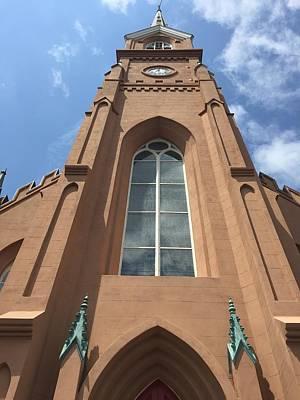 Photograph - A Church Window  by C F  Legette