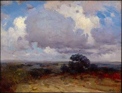 A Summer Evening Painting - A Cloudy Morning by Robert Julian