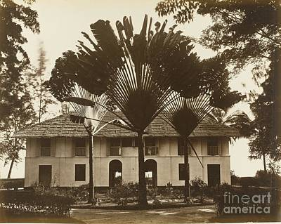 1890 Houses Painting - A Collection Of Twenty Photographs by Penang Sachtler