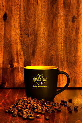 Coffee Mug Photograph - A Cup Of Java From Ozzie's by David Patterson