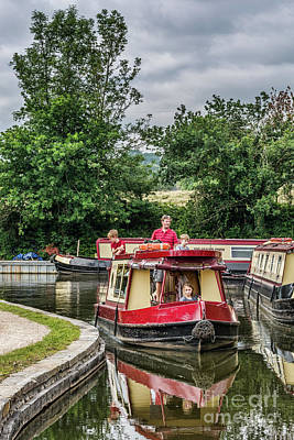 Photograph - A Day Cruising 1 by Steve Purnell