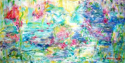 Painting - A Different Monet by Mary Sedici