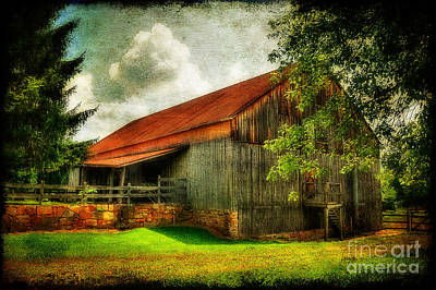 A Farm-picture Print by Lois Bryan