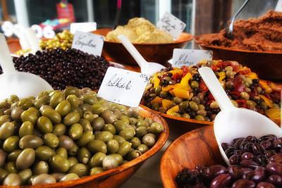Olea Europaea Photograph - A Feast Of Olives by Georgia Fowler