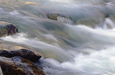 Of Augusta National Photograph - A Flowing Stream At The Lewis And Clark by Joel Sartore