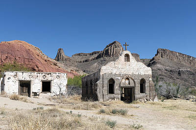 Casita Photograph - A Ghost Town Within Big Bend Ranch State Park by Carol M Highsmith