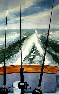 Painting - A Good Day  5-27-15 by Julianne Felton