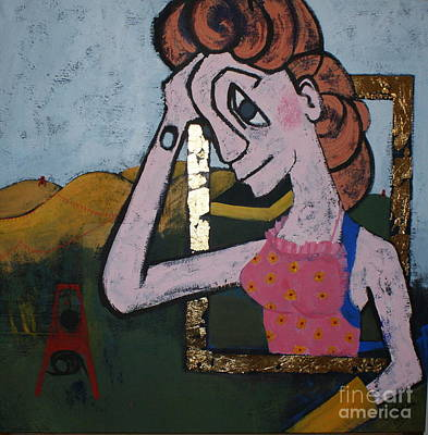 Hair-washing Painting - A Good Day by Joanne Claxton