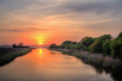 A Gulf Shores Sunset Print by JC Findley