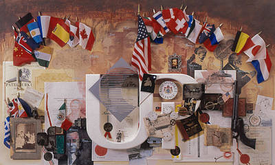 A History Of Invention Print by Chuck Hamrick