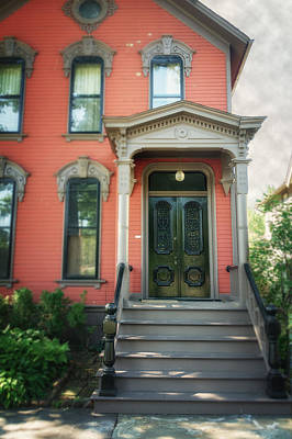 Ohio House Photograph - A House In Tremont by Michael Demagall