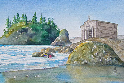 Sepulchre Painting - A Kingdom By The Sea by Gale Cochran-Smith