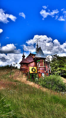 Recycled Art Photograph - A Little Bit Of Oz In Palouse Country by David Patterson