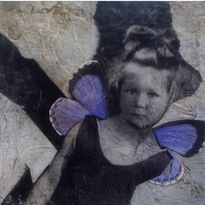 Mixed Media - A Little Broken by Susan McCarrell