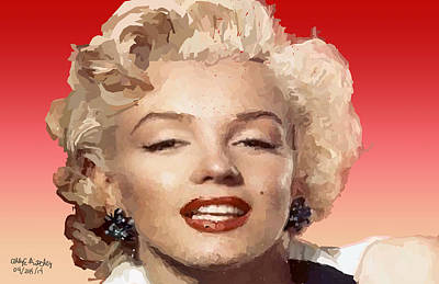 A Little Of Marylin Original by Abigail Ritchey
