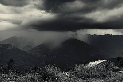 Rain Cloud Photograph - A Little Shower by Fabien Bravin