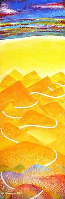 A Lonely Trail Print by Hemu Aggarwal